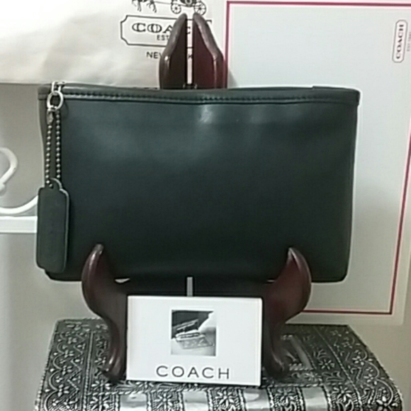 NEW, Vintage Coach Cosmetic Clutch Pouch